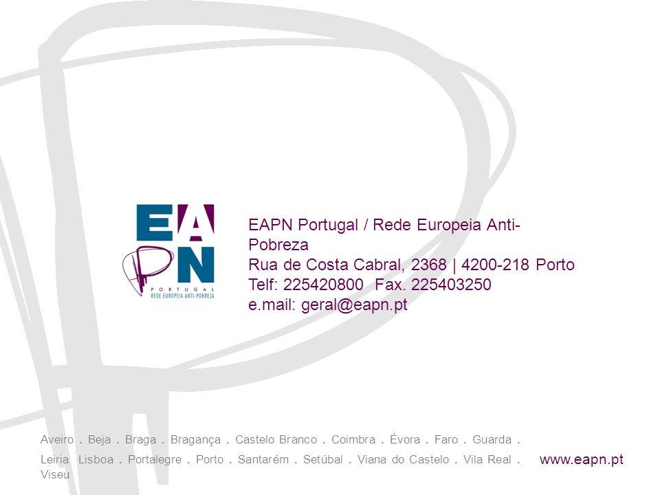 EAPN Portugal / Rede Europeia Anti-Pobreza