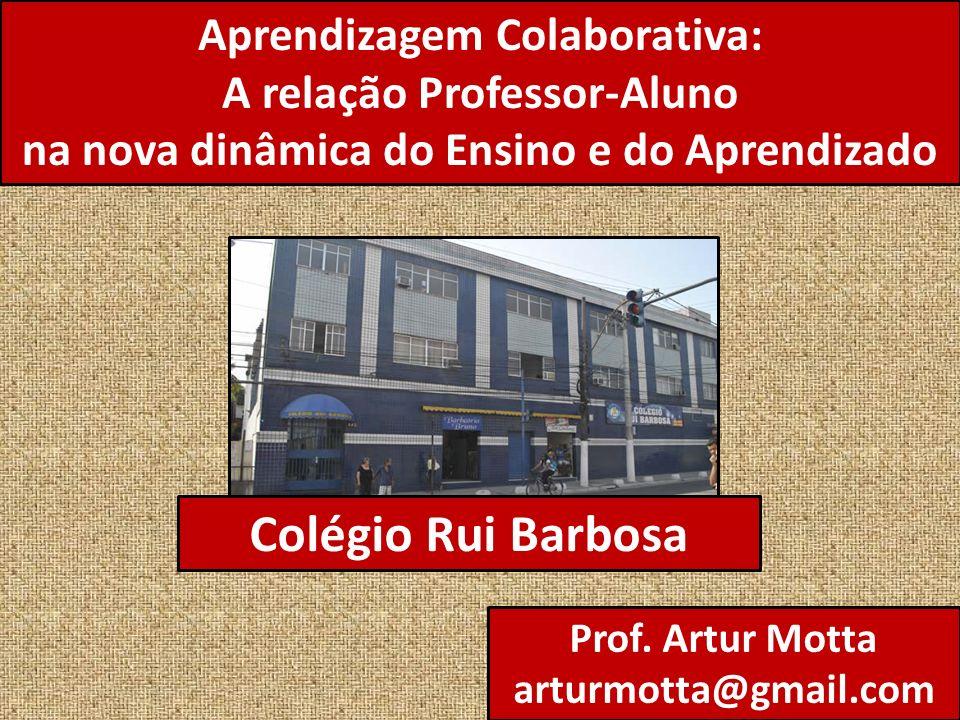Colégio Rui Barbosa Aprendizagem Colaborativa: