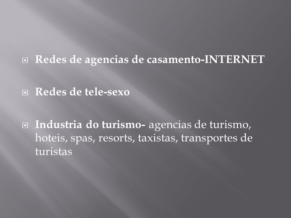 Redes de agencias de casamento-INTERNET