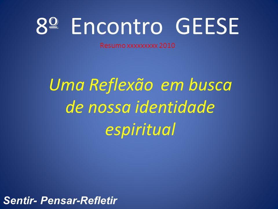 8º Encontro GEESE Resumo xxxxxxxxx 2010