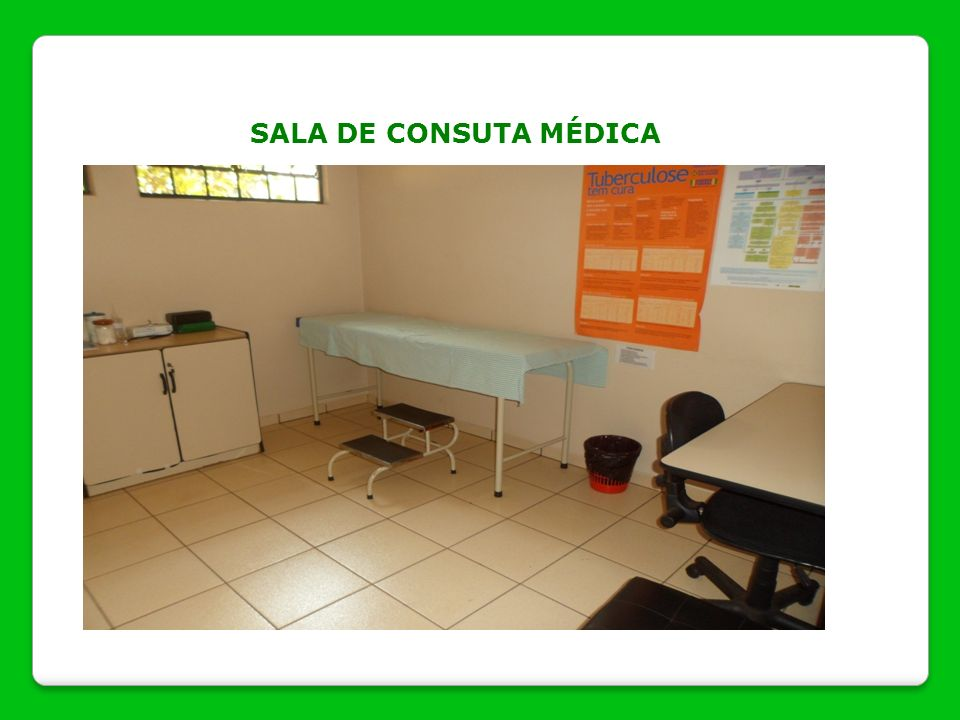 SALA DE CONSUTA MÉDICA