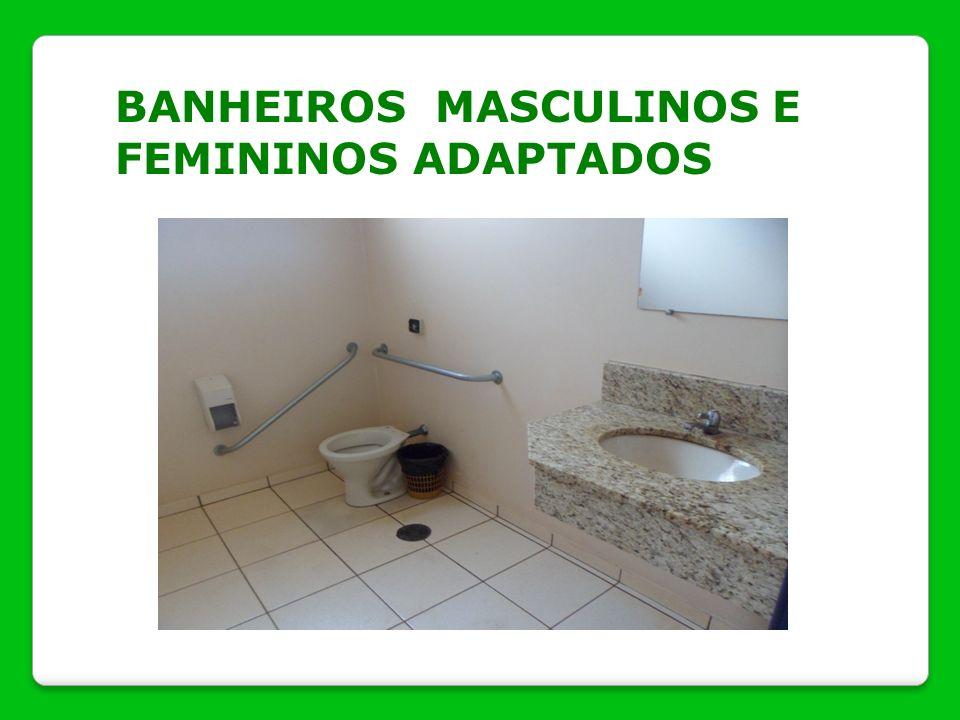 BANHEIROS MASCULINOS E