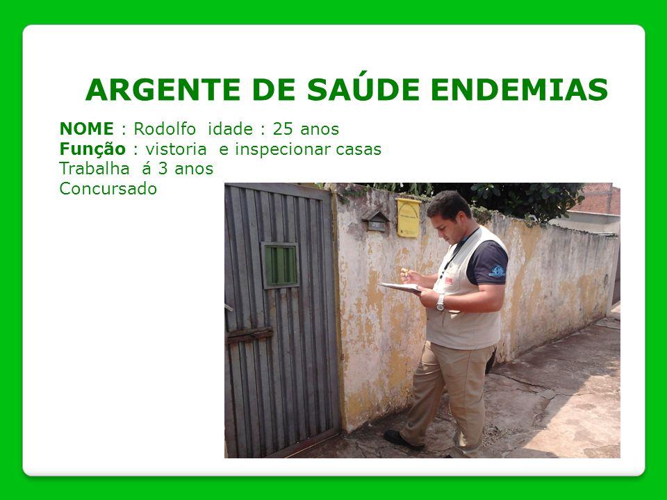 ARGENTE DE SAÚDE ENDEMIAS