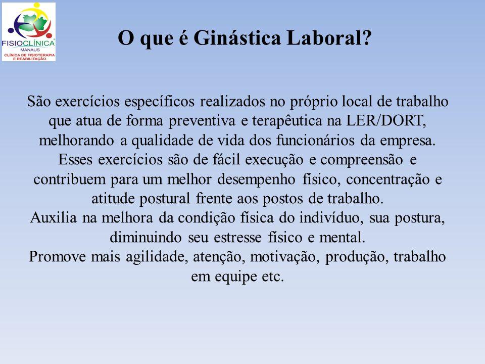 O que é Ginástica Laboral