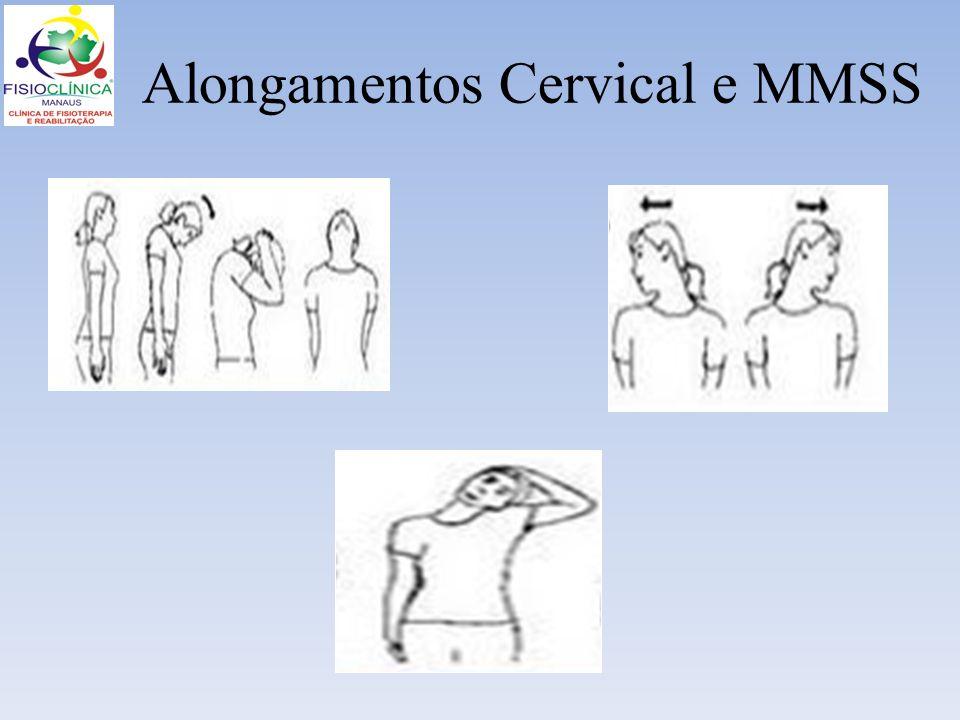 Alongamentos Cervical e MMSS