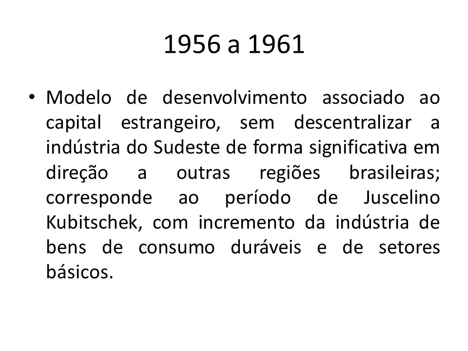 1956 a 1961