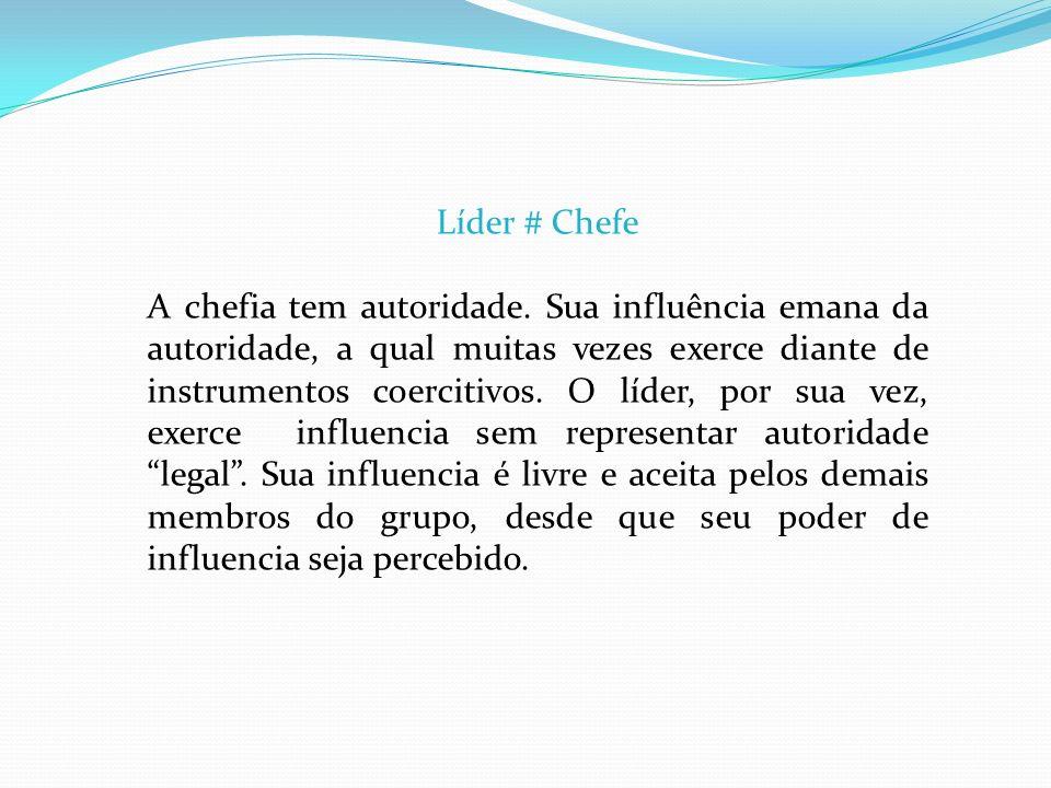 Líder # Chefe