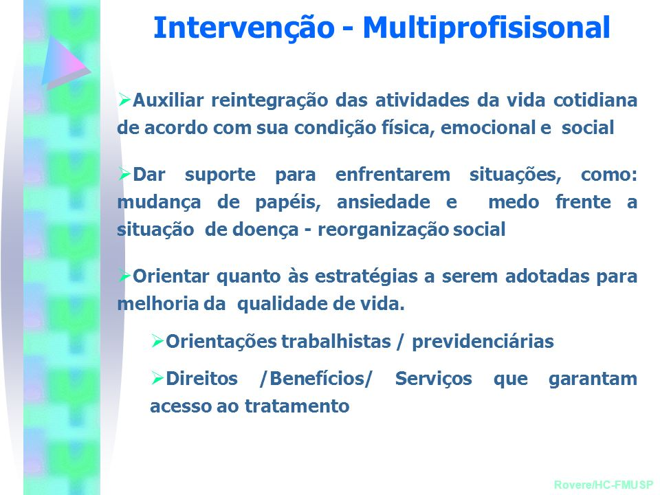 Intervenção - Multiprofisisonal