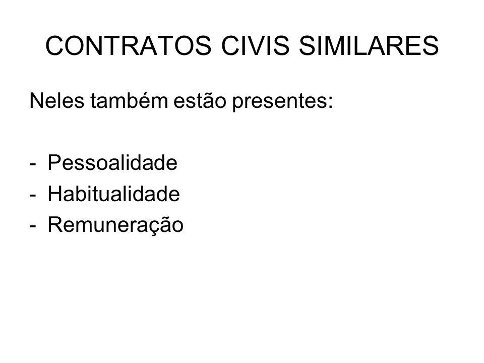 CONTRATOS CIVIS SIMILARES