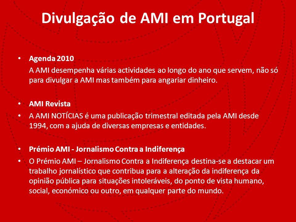Divulgação de AMI em Portugal