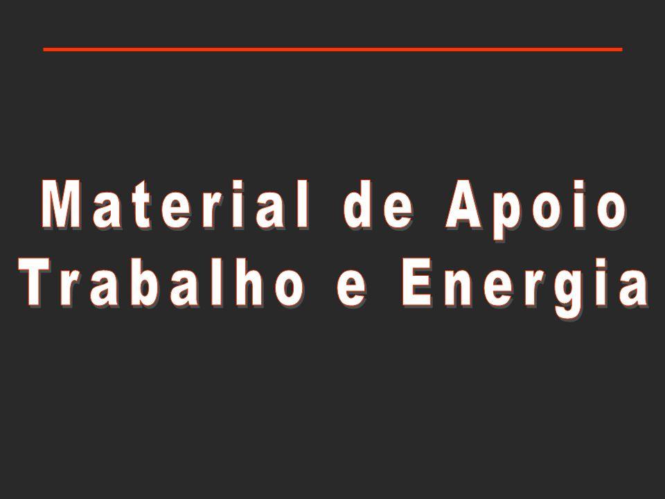 Material de Apoio Trabalho e Energia
