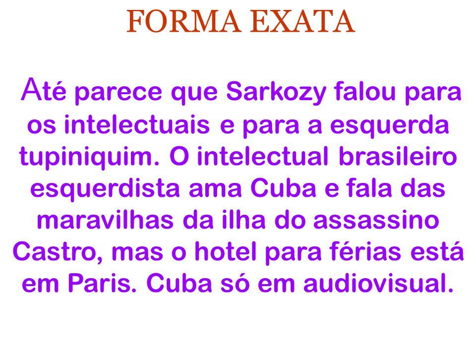 FORMA EXATA