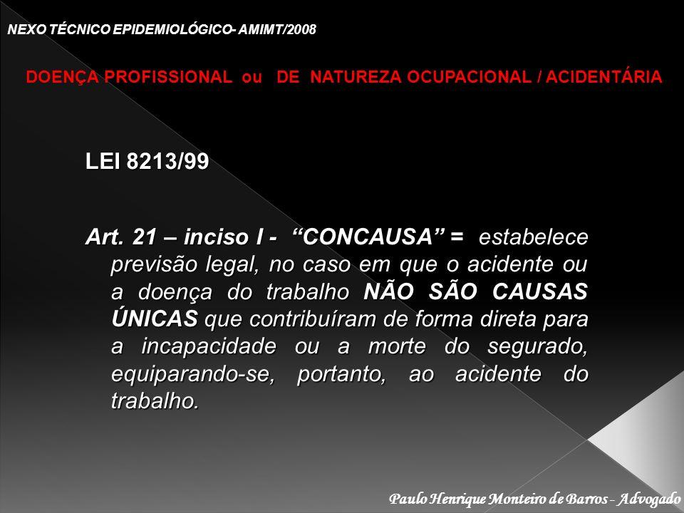 NEXO TÉCNICO EPIDEMIOLÓGICO- AMIMT/2008