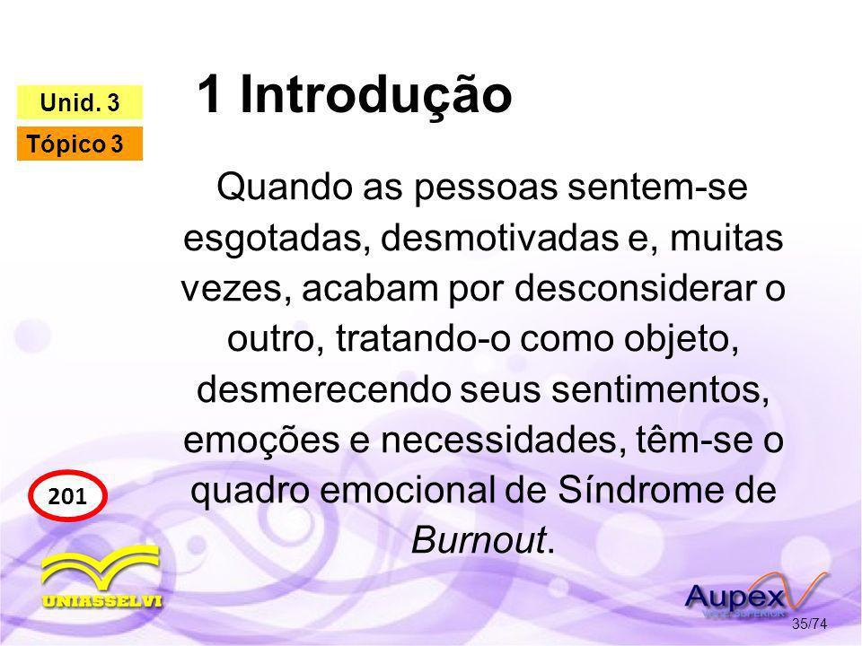 1 Introdução Unid. 3. Tópico 3.
