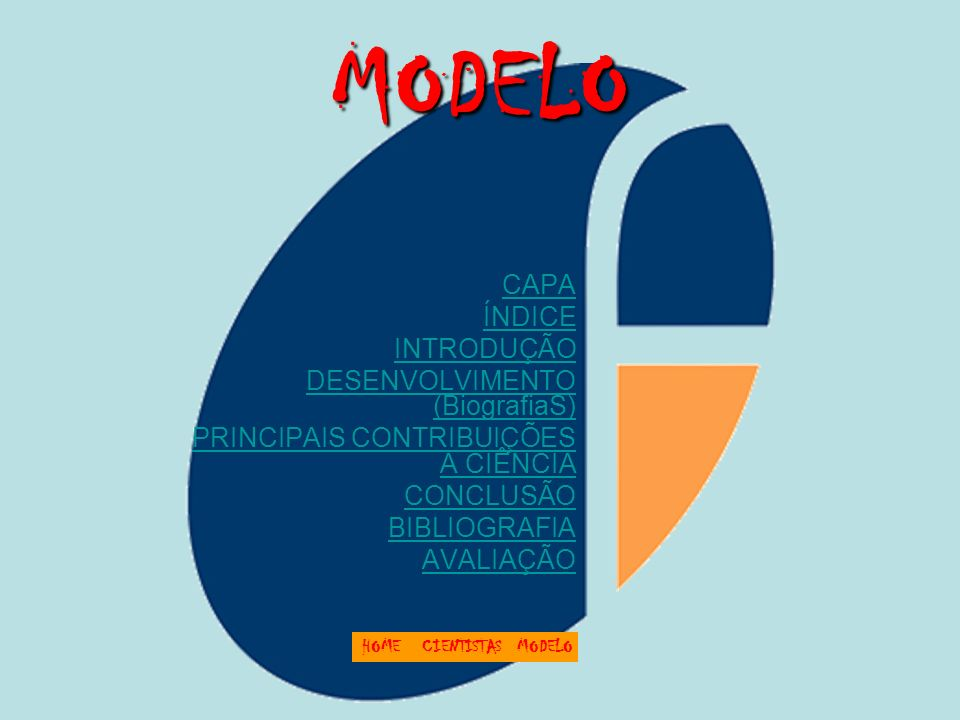 MODELO CAPA ÍNDICE INTRODUÇÃO DESENVOLVIMENTO (BiografiaS)