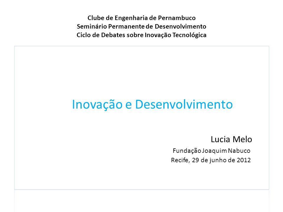 Inovação e Desenvolvimento