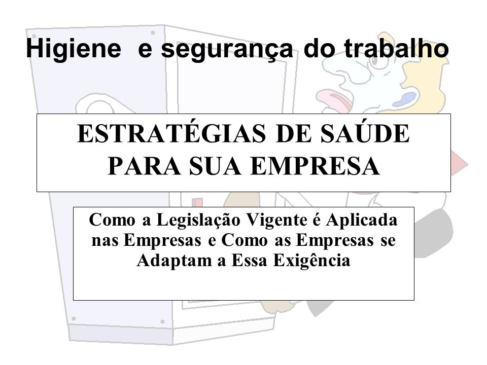 ESTRATÉGIAS DE SAÚDE PARA SUA EMPRESA