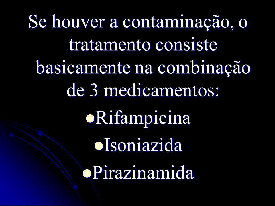 Se houver a contaminação, o tratamento consiste basicamente na combinação de 3 medicamentos: