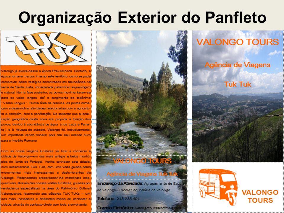Organização Exterior do Panfleto