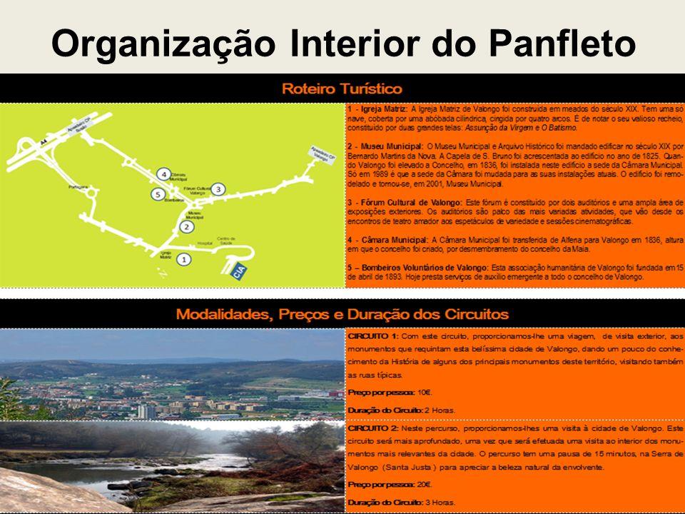 Organização Interior do Panfleto