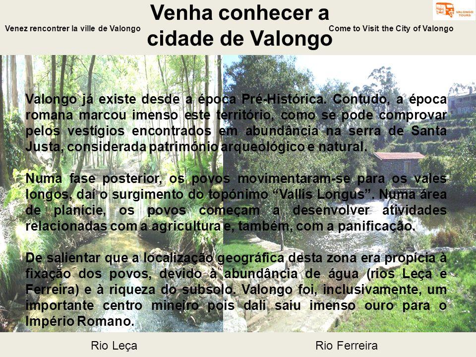 Venha conhecer a cidade de Valongo