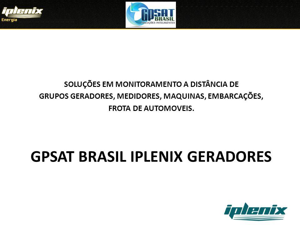 GPSAT BRASIL IPLENIX geradores