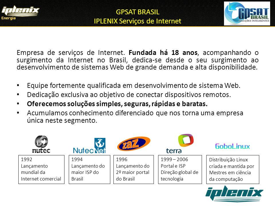 GPSAT BRASIL IPLENIX Serviços de Internet
