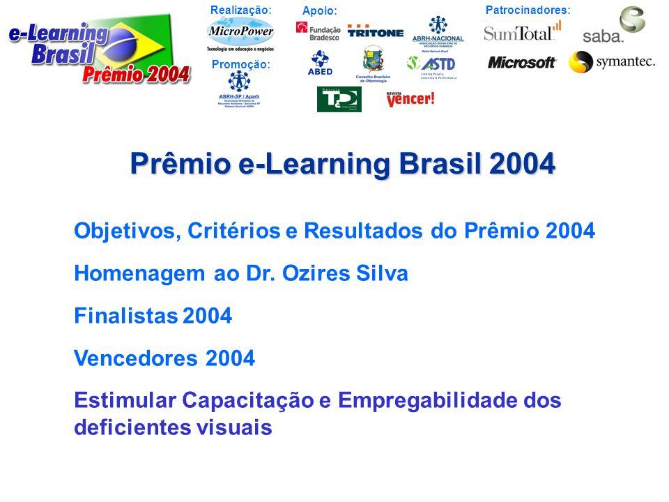 Prêmio e-Learning Brasil 2004