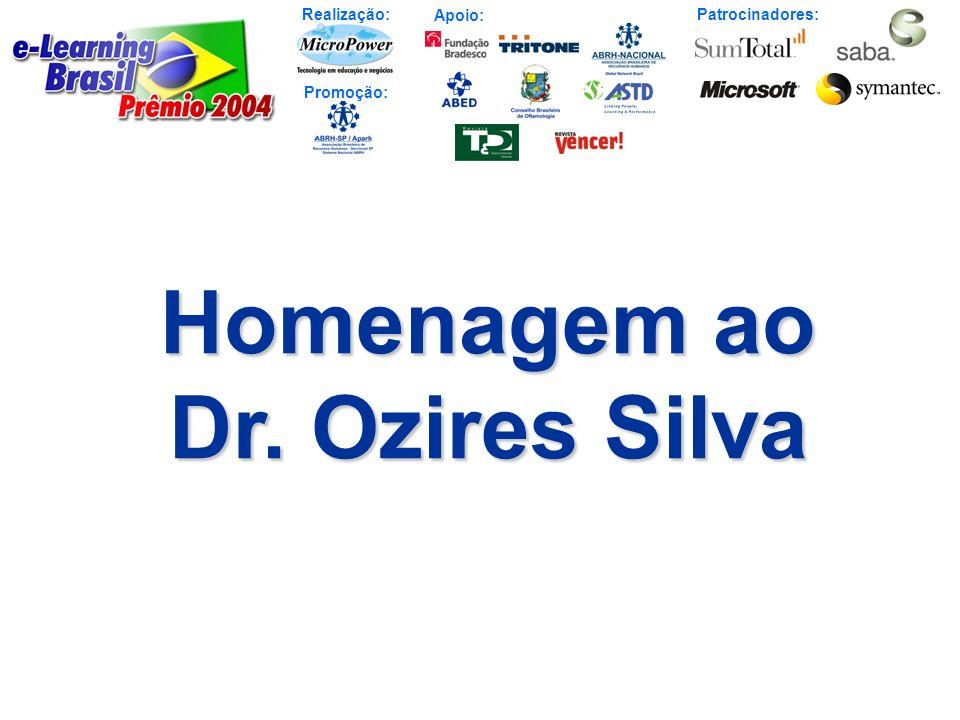 Homenagem ao Dr. Ozires Silva
