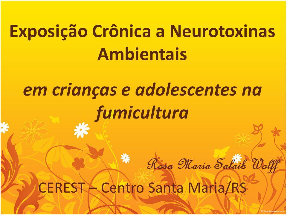 Exposição Crônica a Neurotoxinas Ambientais