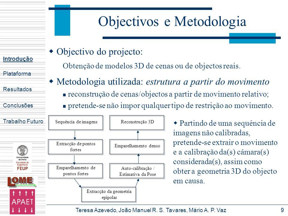 Objectivos e Metodologia