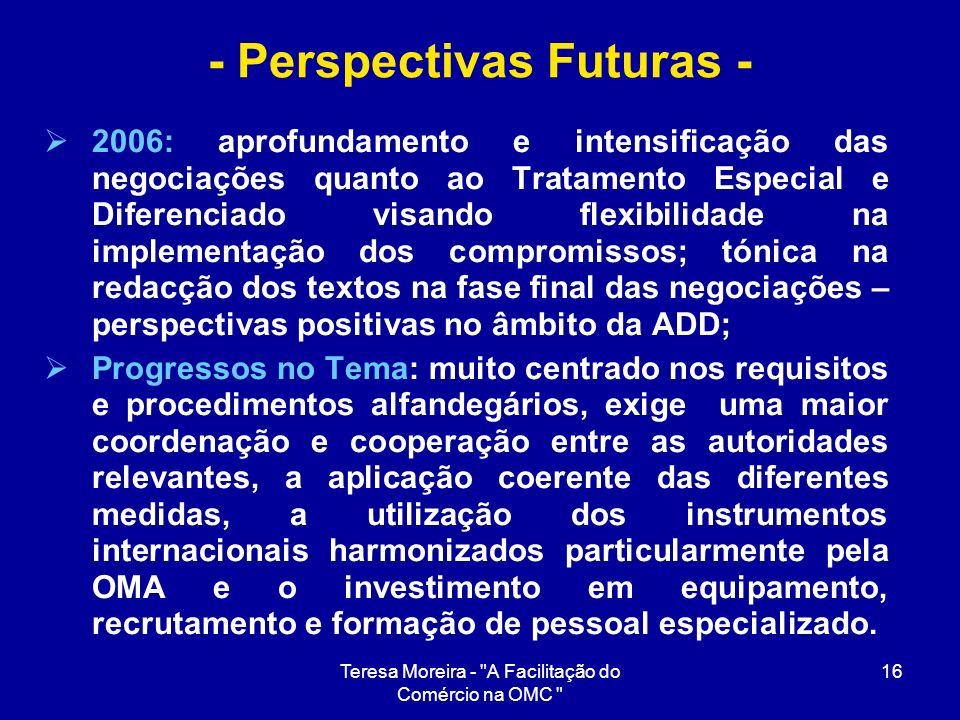 - Perspectivas Futuras -