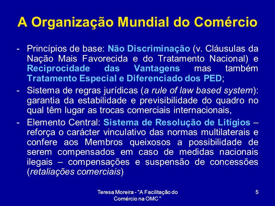 A Organização Mundial do Comércio