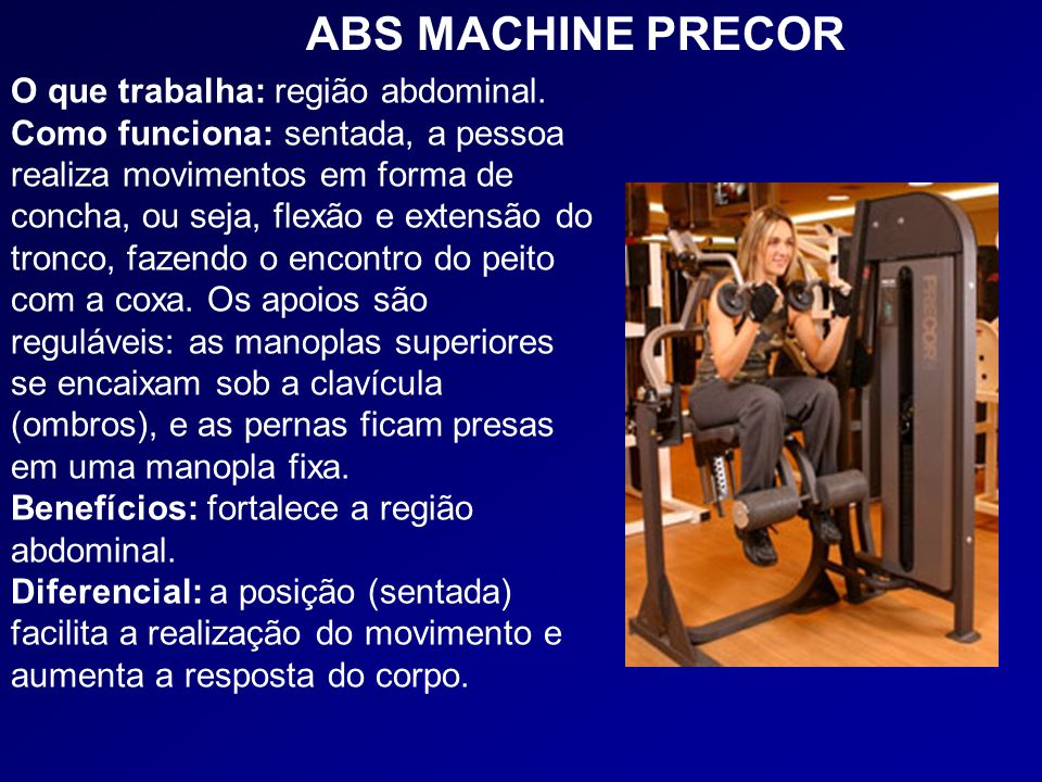 ABS MACHINE PRECOR