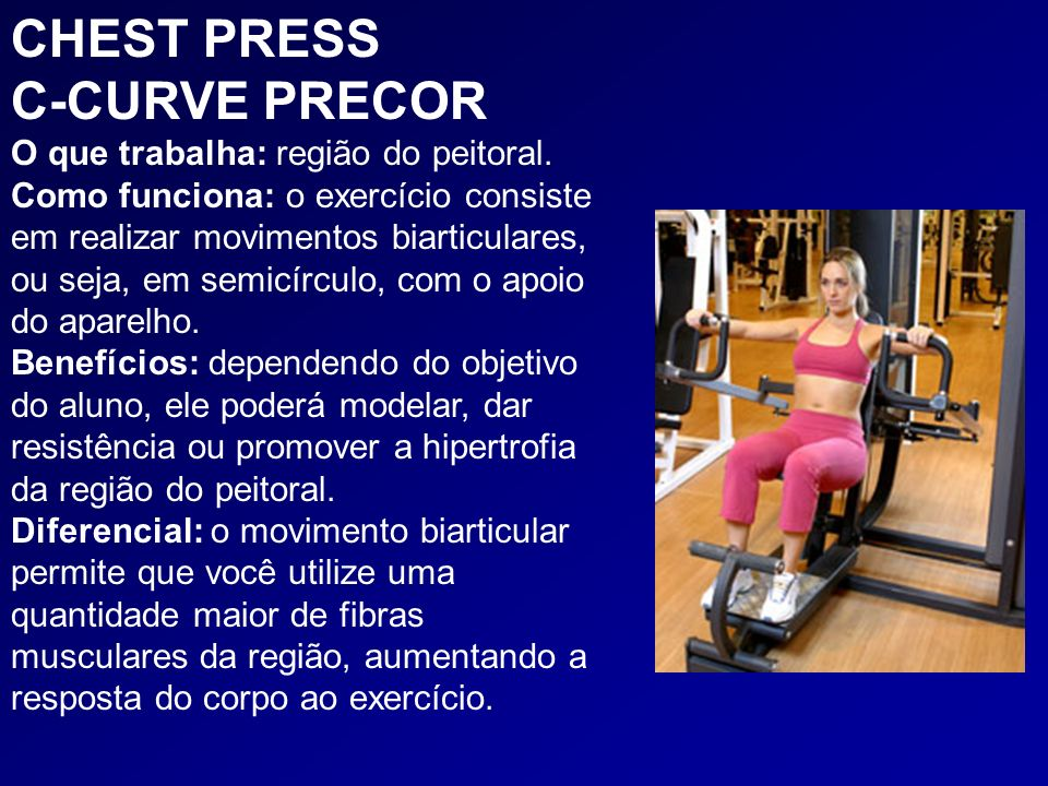CHEST PRESS C-CURVE PRECOR