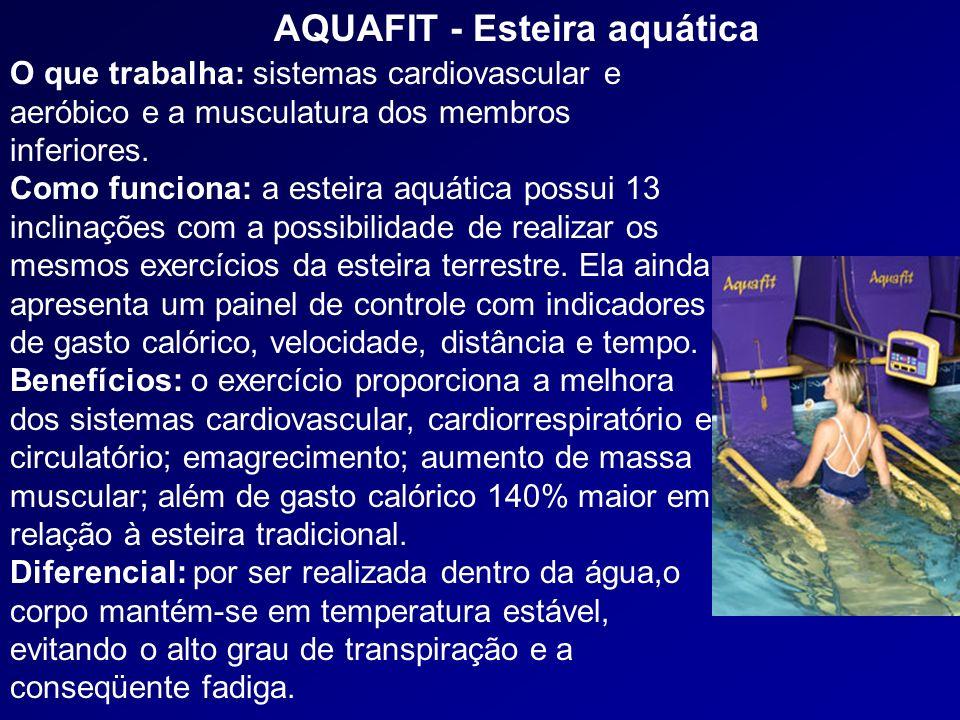 AQUAFIT - Esteira aquática
