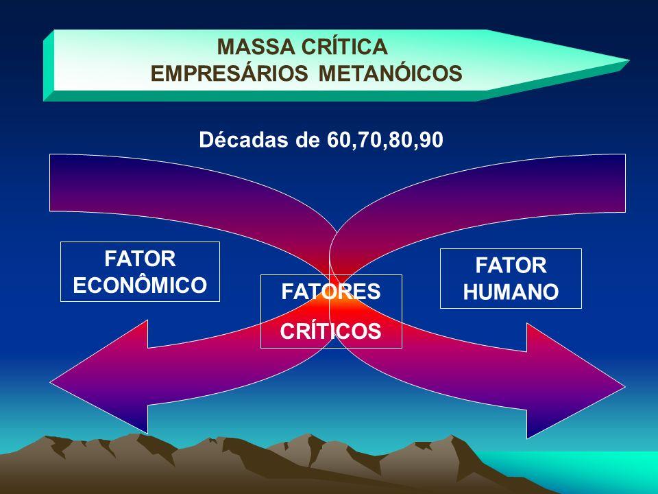 EMPRESÁRIOS METANÓICOS