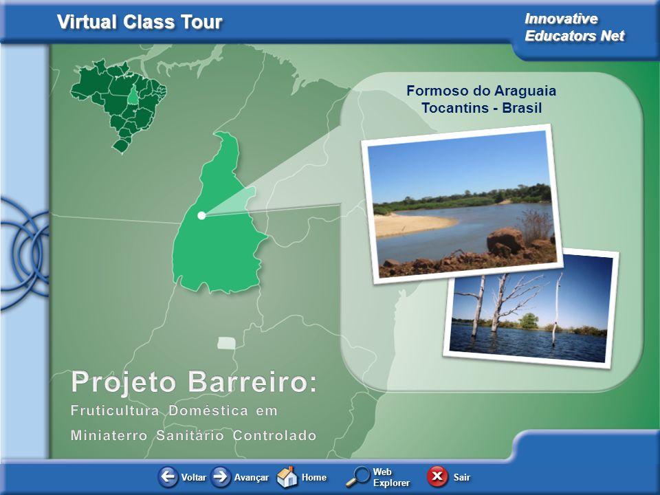 Projeto Barreiro: Formoso do Araguaia Tocantins - Brasil
