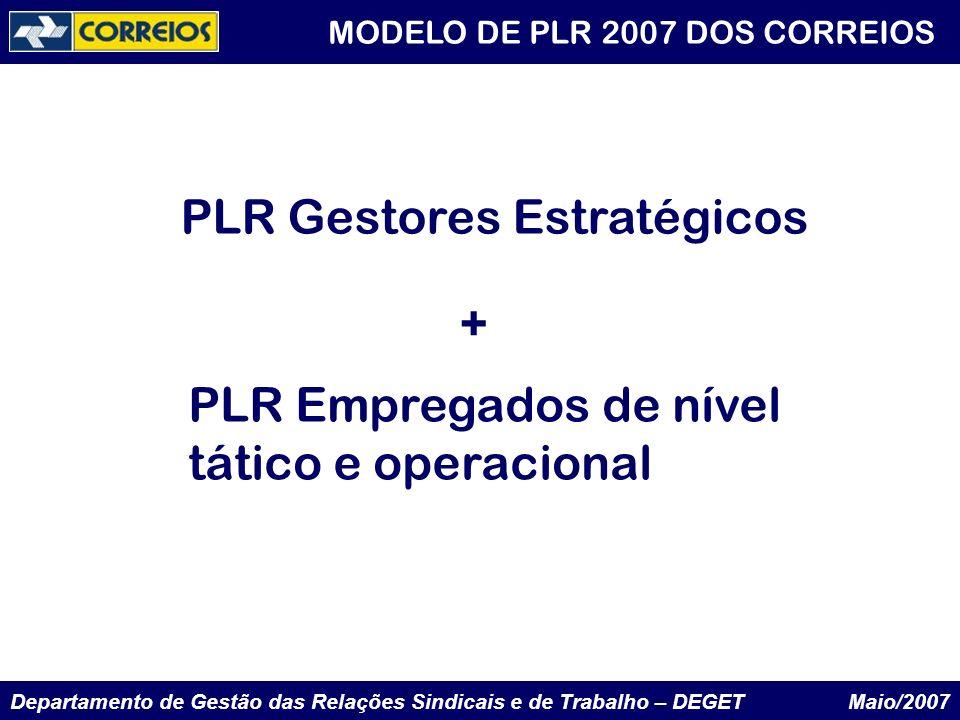 PLR Gestores Estratégicos +