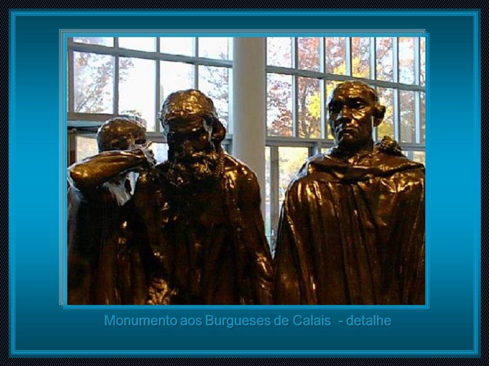 Monumento aos Burgueses de Calais - detalhe
