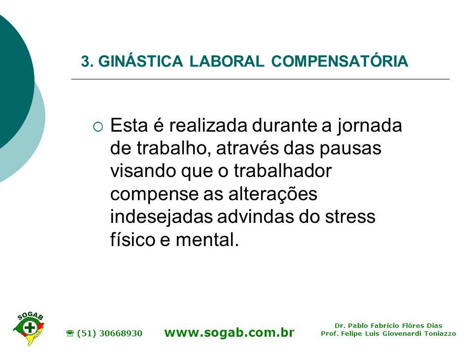 3. GINÁSTICA LABORAL COMPENSATÓRIA