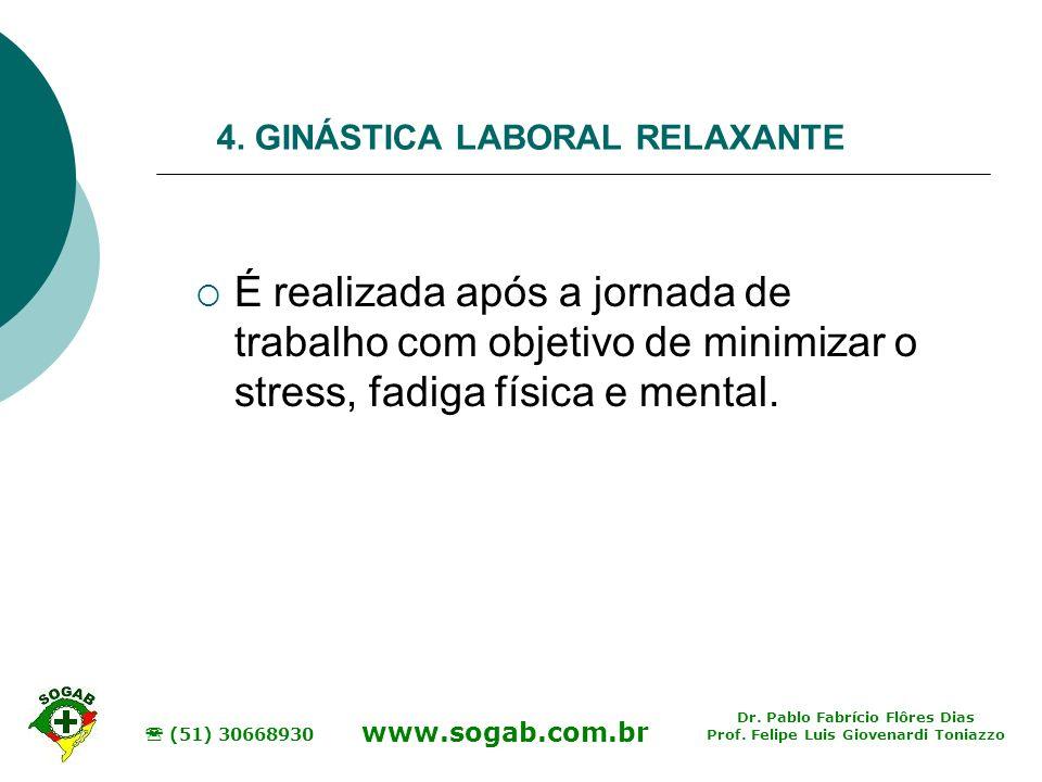 4. GINÁSTICA LABORAL RELAXANTE