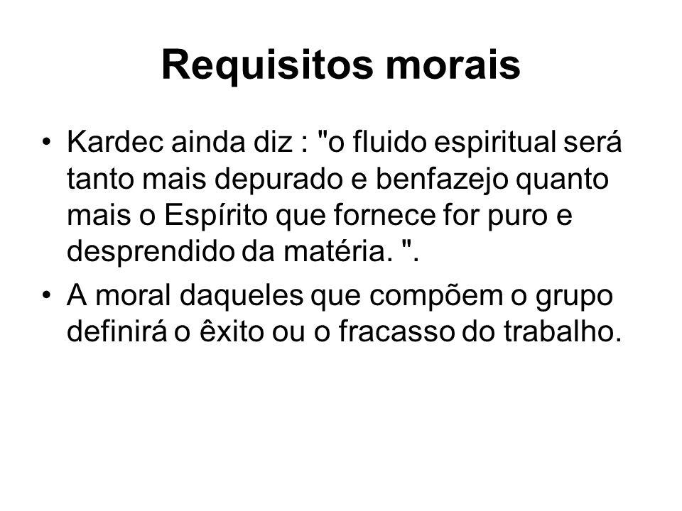 Requisitos morais