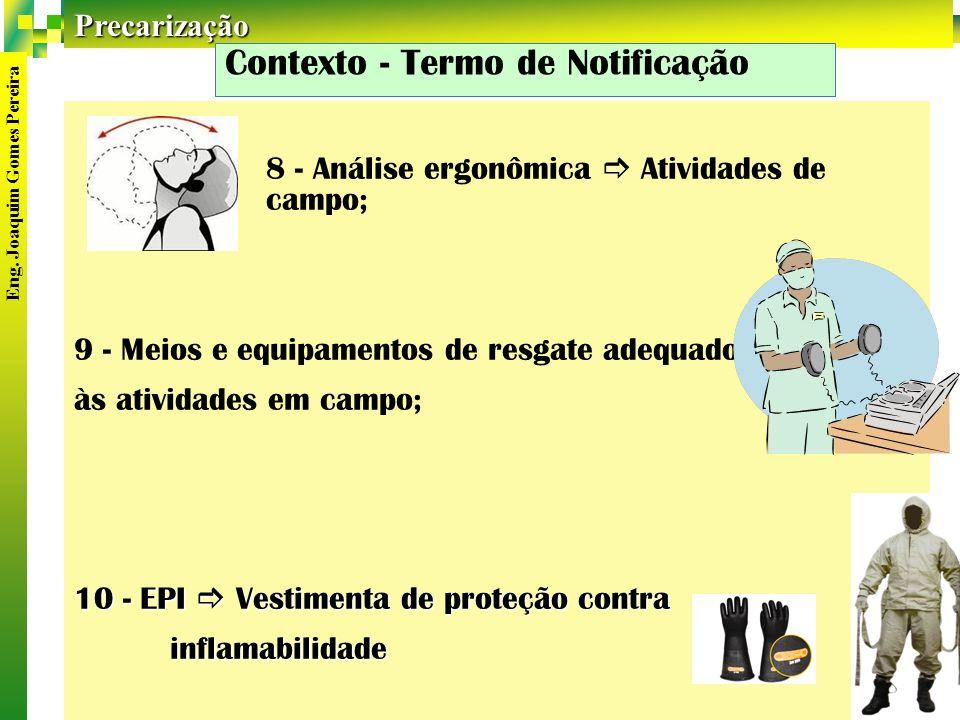Contexto - Termo de Notificação
