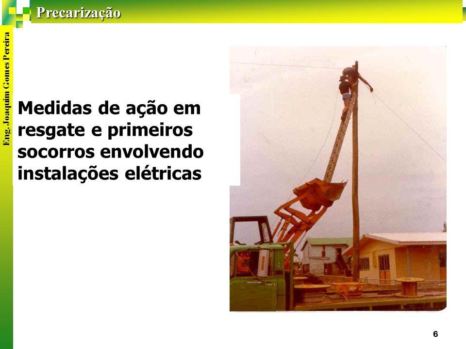 Medidas de ação em resgate e primeiros socorros envolvendo instalações elétricas