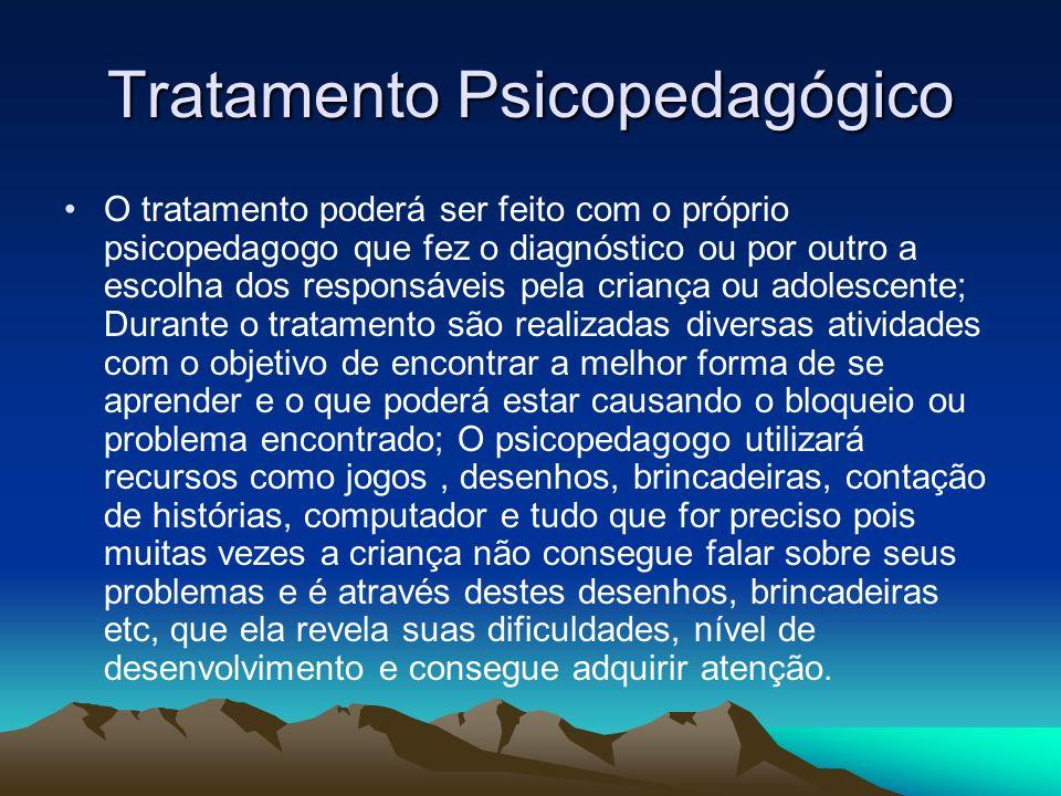 Tratamento Psicopedagógico