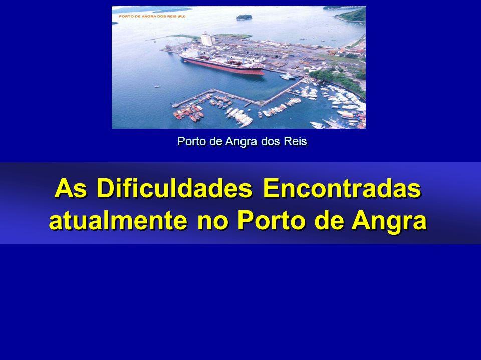 As Dificuldades Encontradas atualmente no Porto de Angra