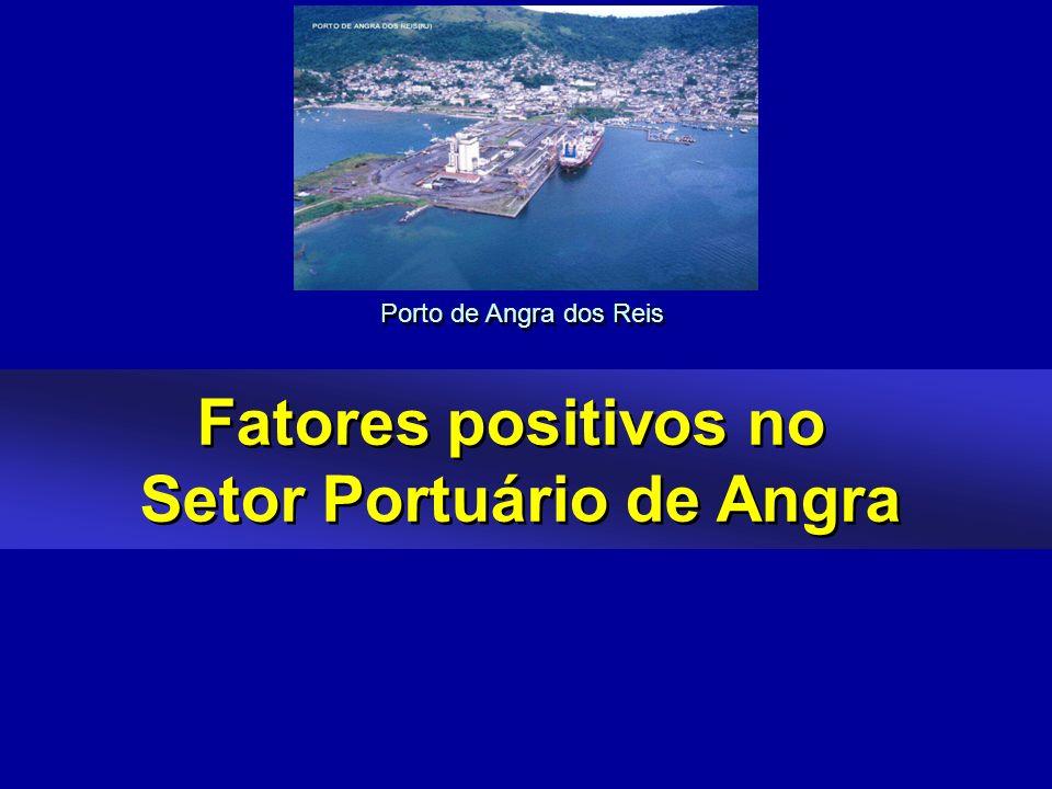 Fatores positivos no Setor Portuário de Angra