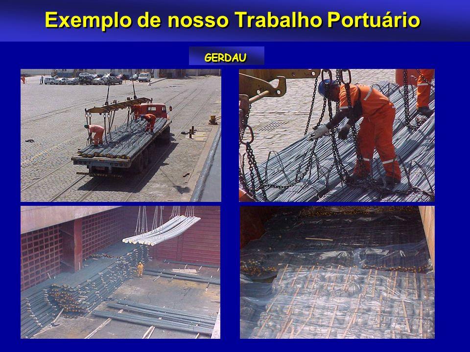Exemplo de nosso Trabalho Portuário