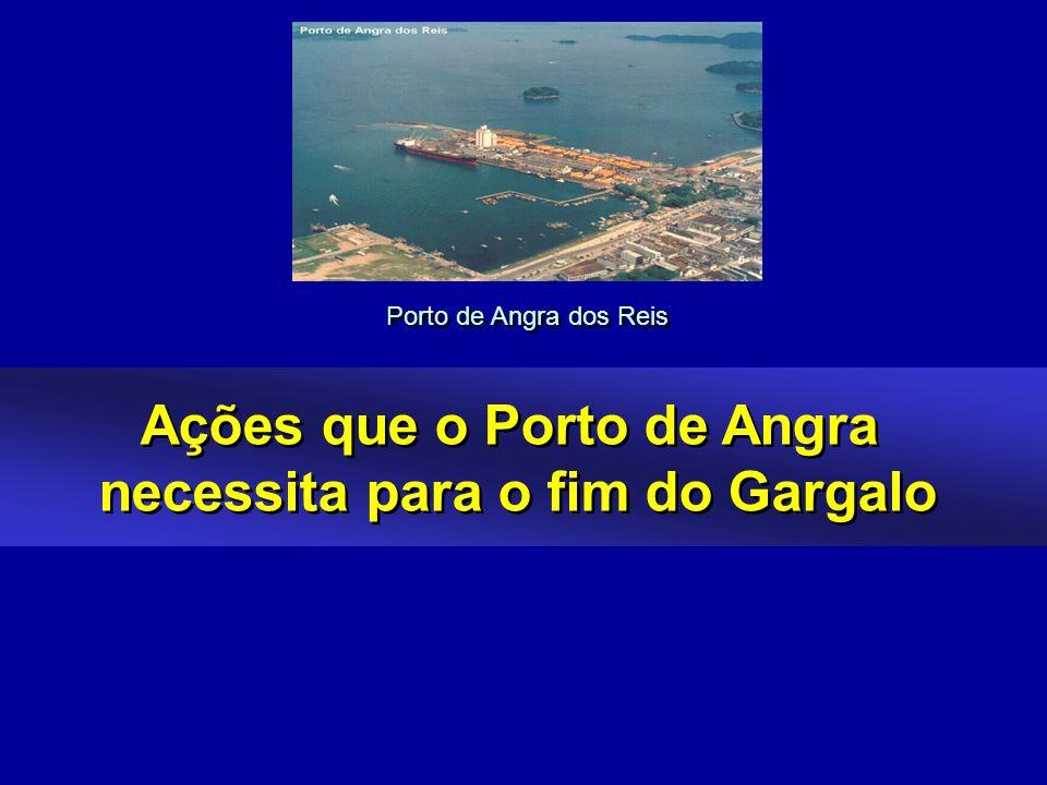 Ações que o Porto de Angra necessita para o fim do Gargalo